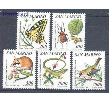 Znaczek San Marino 1990 Mi 1458-1462 Czyste **