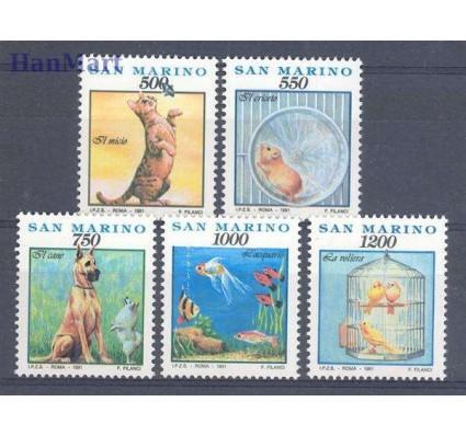Znaczek San Marino 1991 Mi 1479-1483 Czyste **
