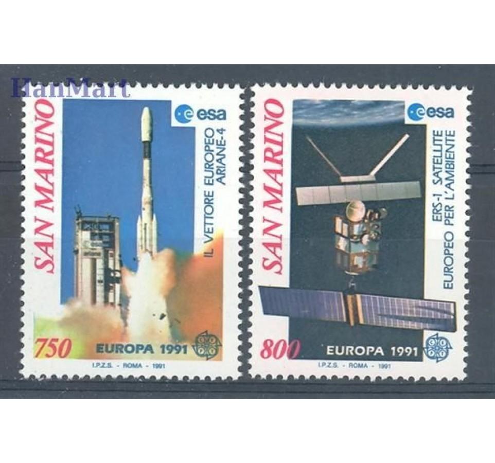 San Marino 1991 Mi 1465-1466 Czyste **