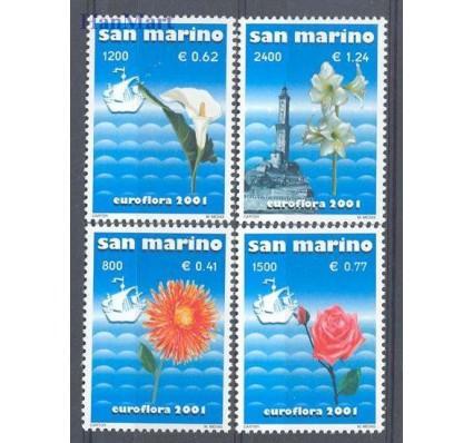 San Marino 2001 Mi 1954-1957 Czyste **
