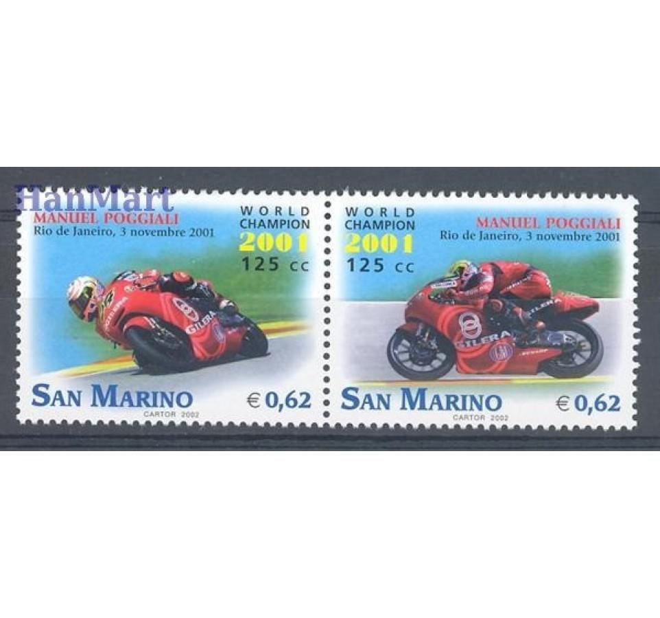 San Marino 2002 Mi 2010-2011 Czyste **