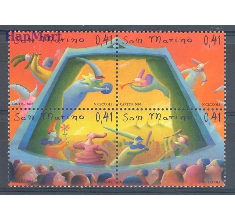 San Marino 2003 Mi 2105-2108 Czyste **