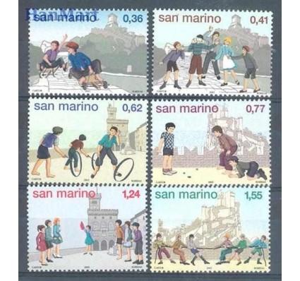 Znaczek San Marino 2003 Mi 2113-2118 Czyste **