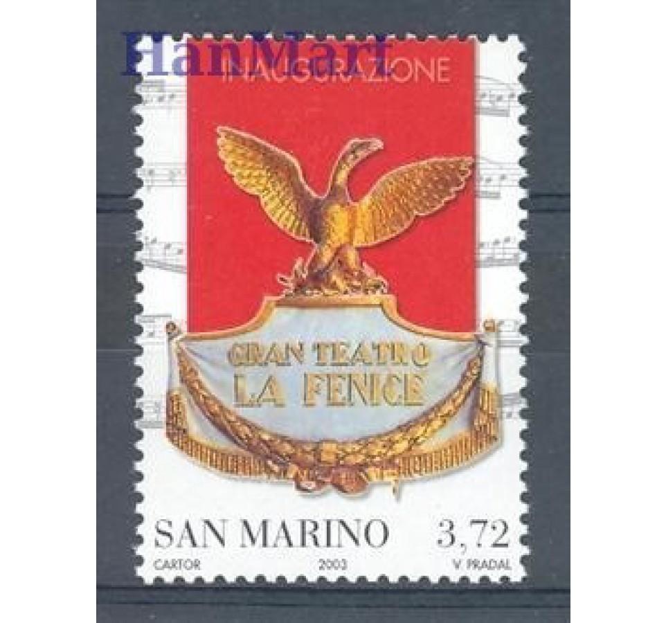 San Marino 2003 Mi 2119 Czyste **