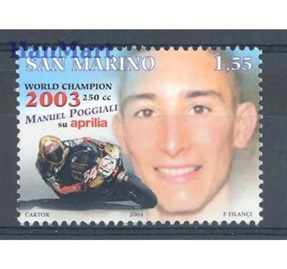 San Marino 2004 Mi 2136 Czyste **