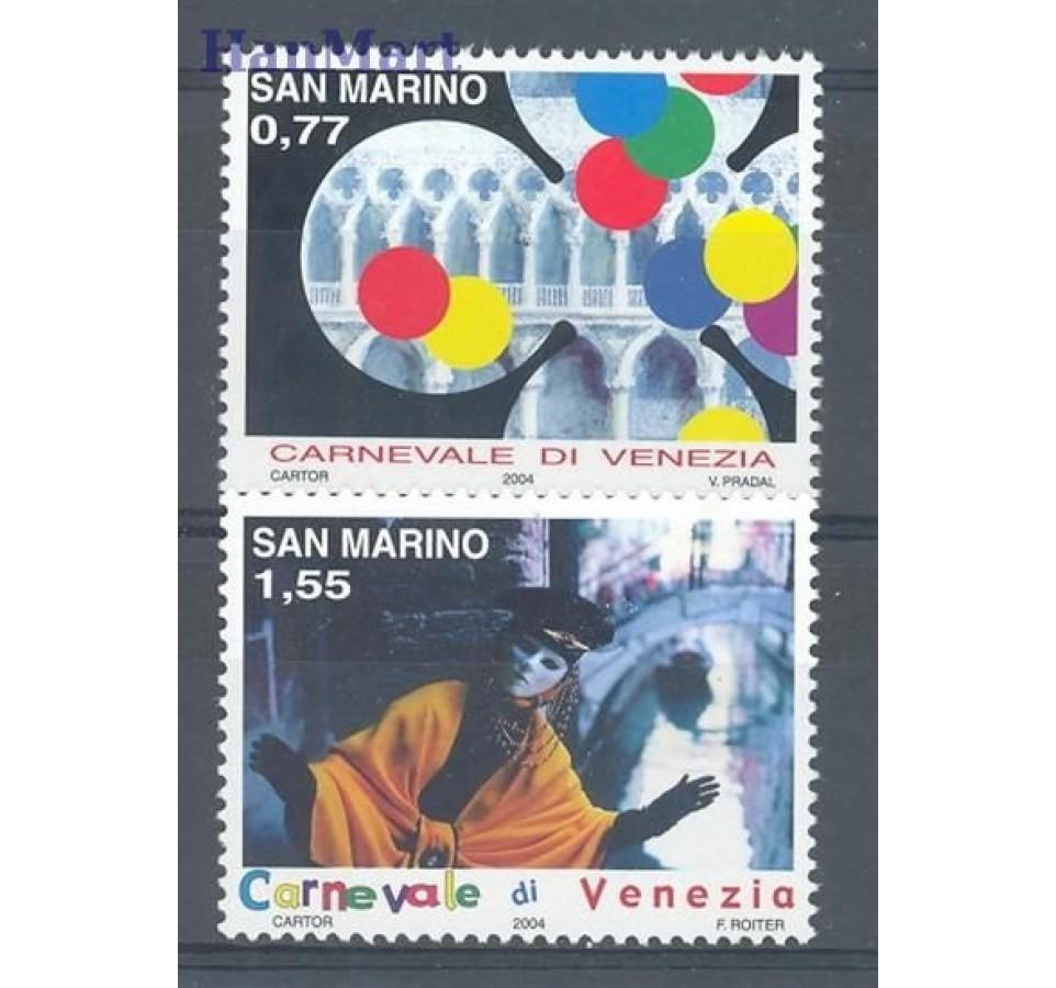 San Marino 2004 Mi 2137-2138 Czyste **