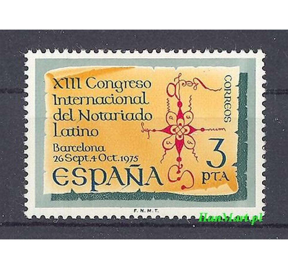 Hiszpania 1975 Mi 2176 Czyste **