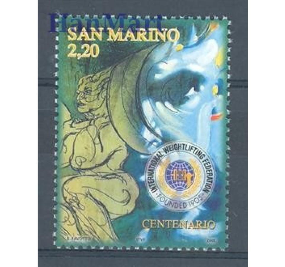 San Marino 2005 Mi 2183 Czyste **