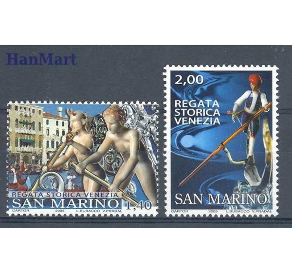 San Marino 2005 Mi 2224-2225 Czyste **