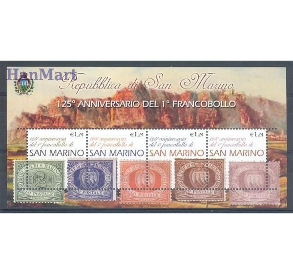 San Marino 2002 Mi bl 30 Czyste **