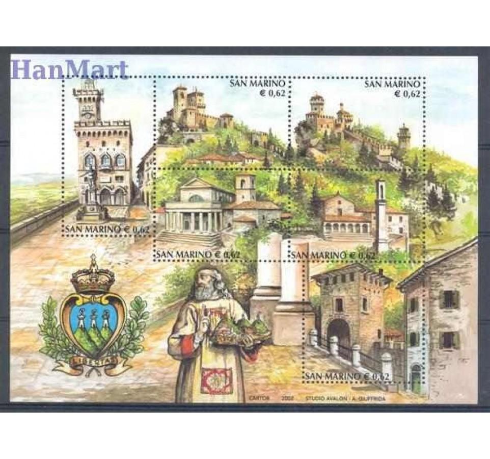 San Marino 2002 Mi bl 31 Czyste **