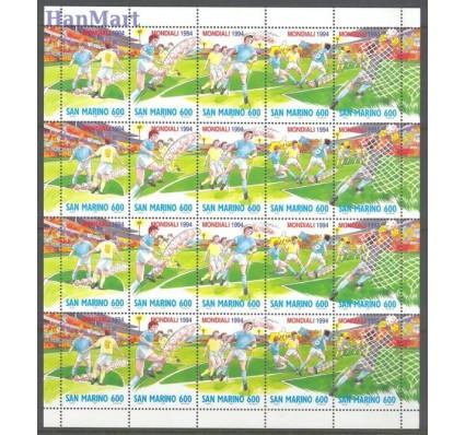 Znaczek San Marino 1994 Mi ark 1577-1581 Czyste **