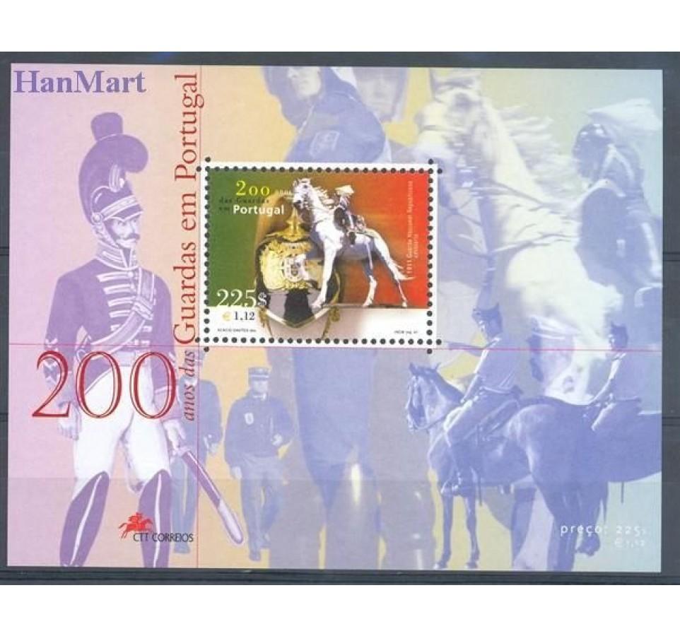 Portugalia 2001 Mi bl 173 Czyste **
