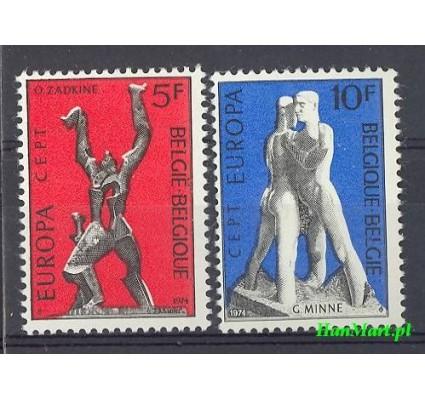 Belgia 1974 Mi 1766-1767 Czyste **