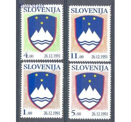 Słowenia 1991 Mi 2-5I Czyste **