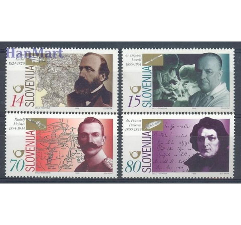 Słowenia 1999 Mi 247-250 Czyste **