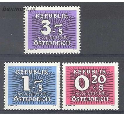 Austria 1986 Mi por 261-263 Czyste **