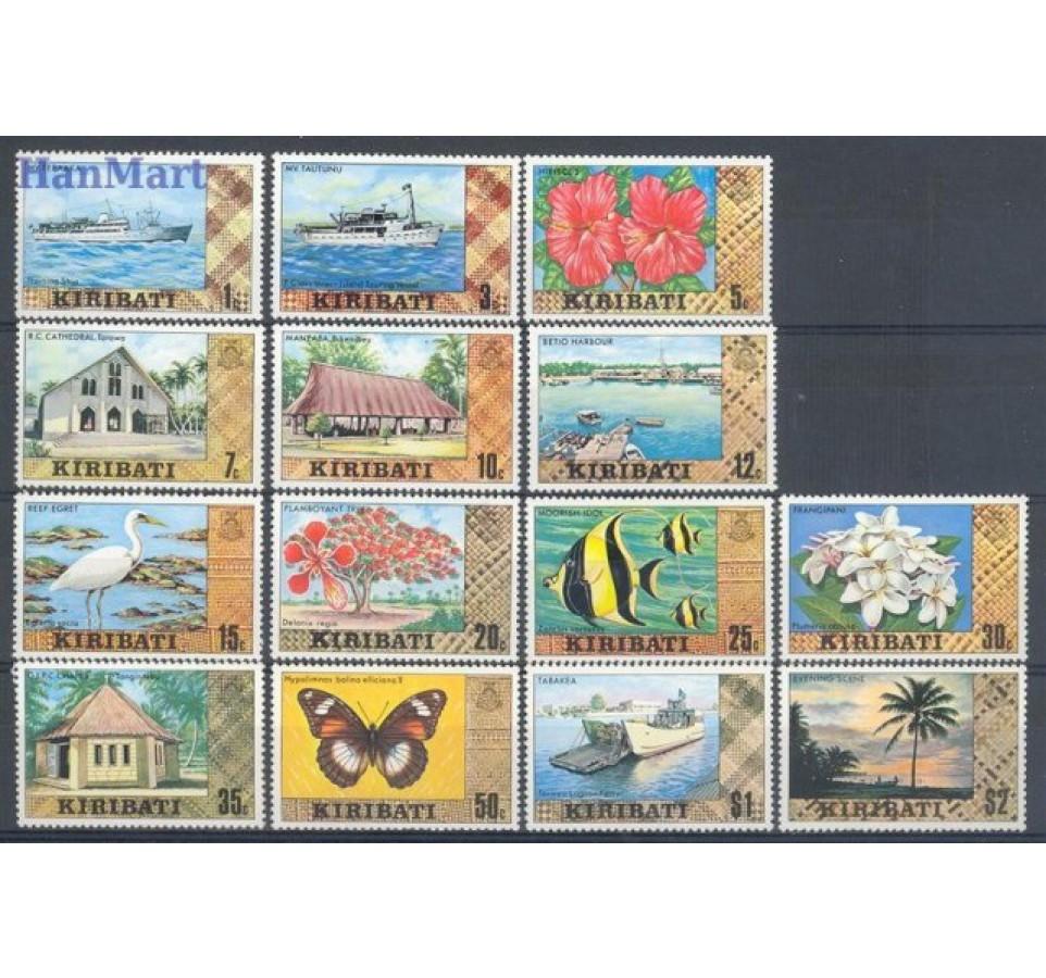 Kiribati 1979 Mi 322-335 Czyste **