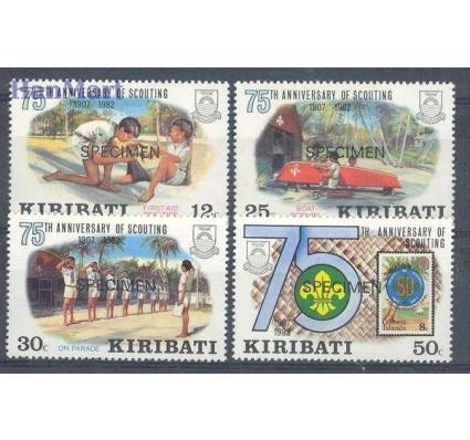 Znaczek Kiribati 1982 Mi spe 408-411 Czyste **