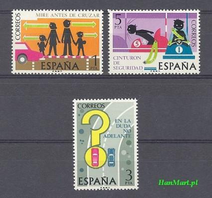 Hiszpania 1976 Mi 2205-2207 Czyste **