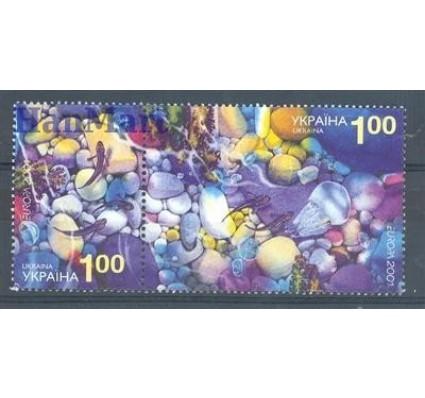 Znaczek Ukraina 2001 Mi 444-445 Czyste **