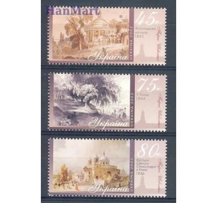 Znaczek Ukraina 2002 Mi 538-540 Czyste **