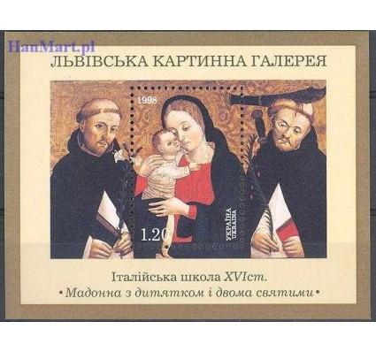 Znaczek Ukraina 1998 Mi bl 11 Czyste **