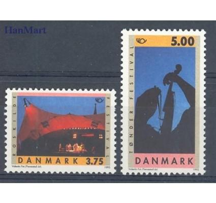 Znaczek Dania 1995 Mi 1105-1106 Czyste **