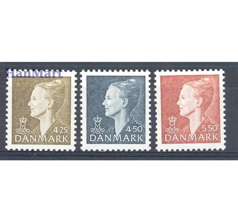 Dania 1998 Mi 1176-1178 Czyste **