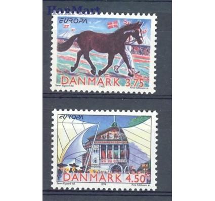 Znaczek Dania 1998 Mi 1188-1189 Czyste **