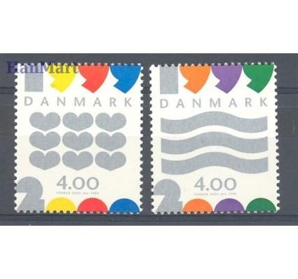 Dania 1999 Mi 1231-1232 Czyste **