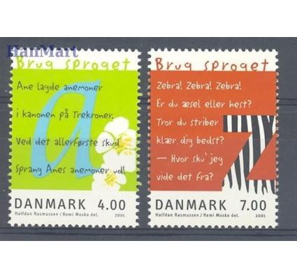 Dania 2001 Mi 1271-1272 Czyste **