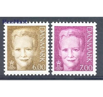 Dania 2001 Mi 1279-1280 Czyste **