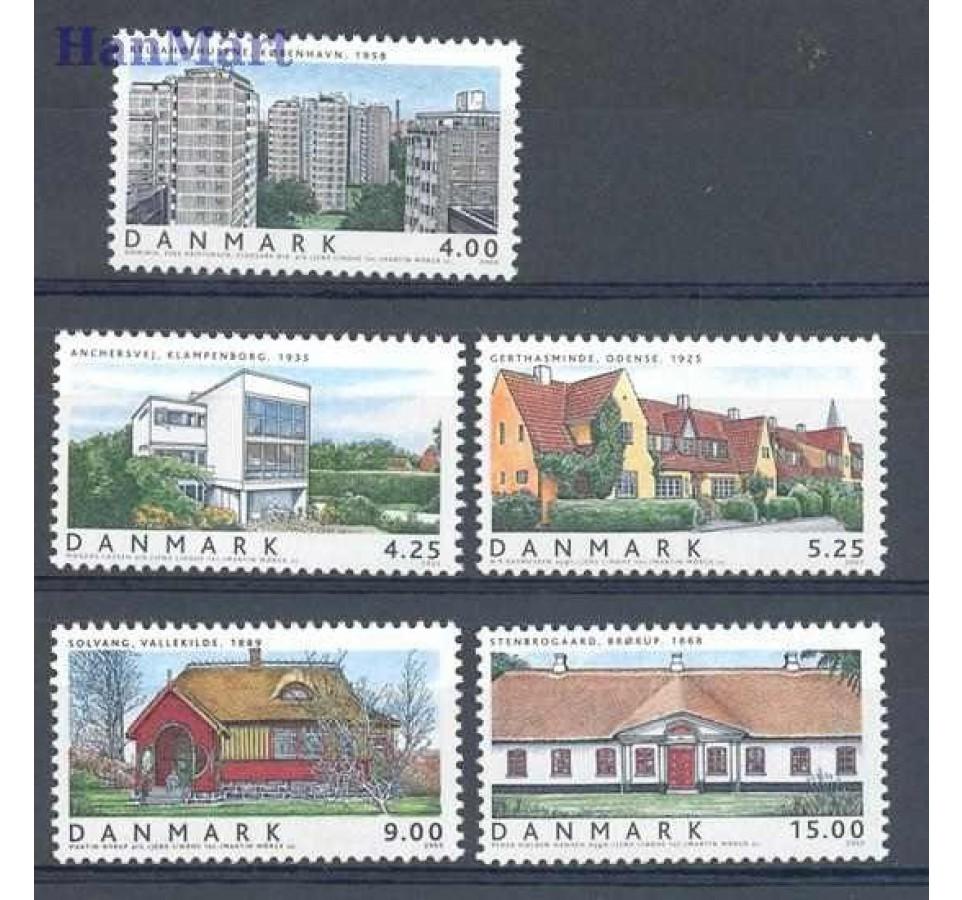 Dania 2003 Mi 1343-1347 Czyste **