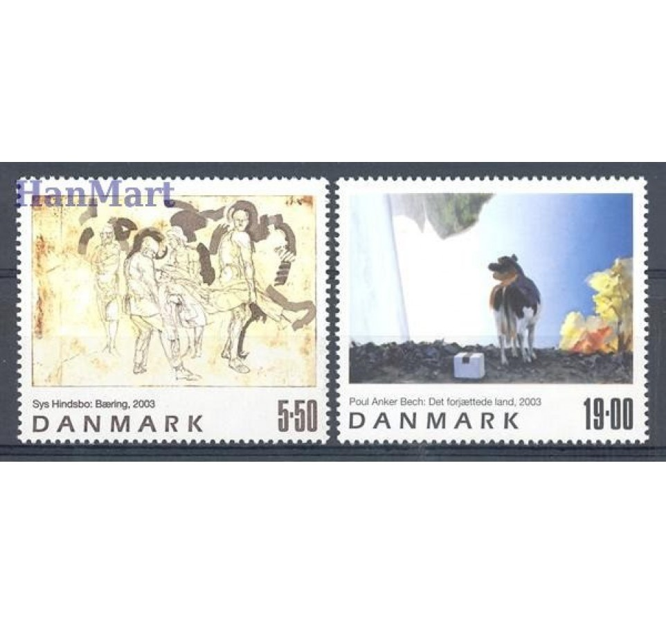 Dania 2003 Mi 1348-1349 Czyste **