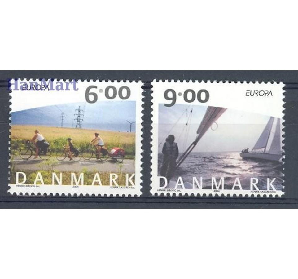 Dania 2004 Mi 1375-1376 Czyste **