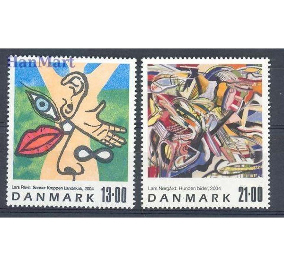 Dania 2004 Mi 1381-1382 Czyste **