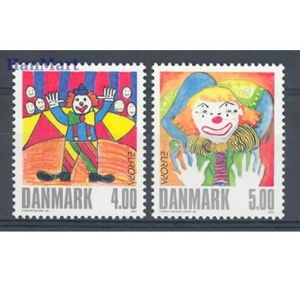 Dania 2002 Mi 1310-1311 Czyste **