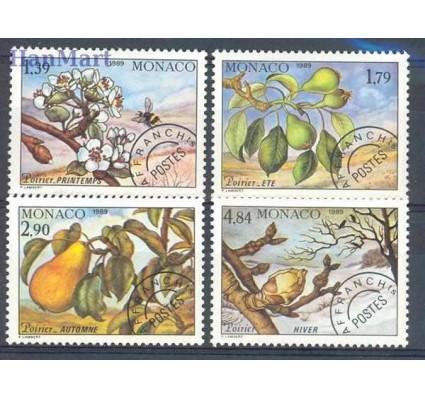 Monako 1989 Mi 1924-1927 Czyste **