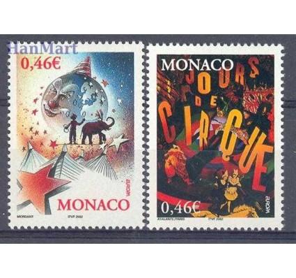 Monako 2002 Mi 2600-2601 Czyste **
