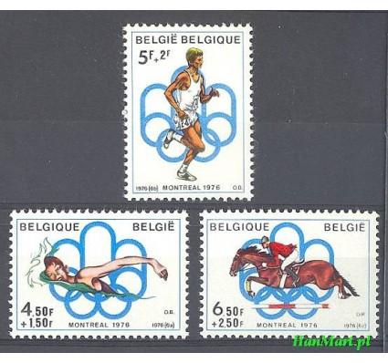 Znaczek Belgia 1976 Mi 1852-1854 Czyste **