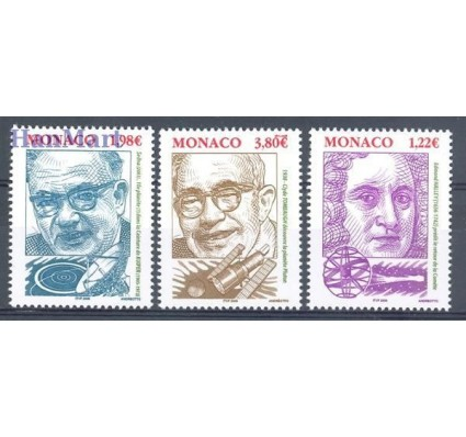 Monako 2005 Mi 2755-2757 Czyste **