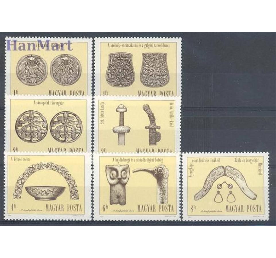 Węgry 1984 Mi 3673-3679 Czyste **