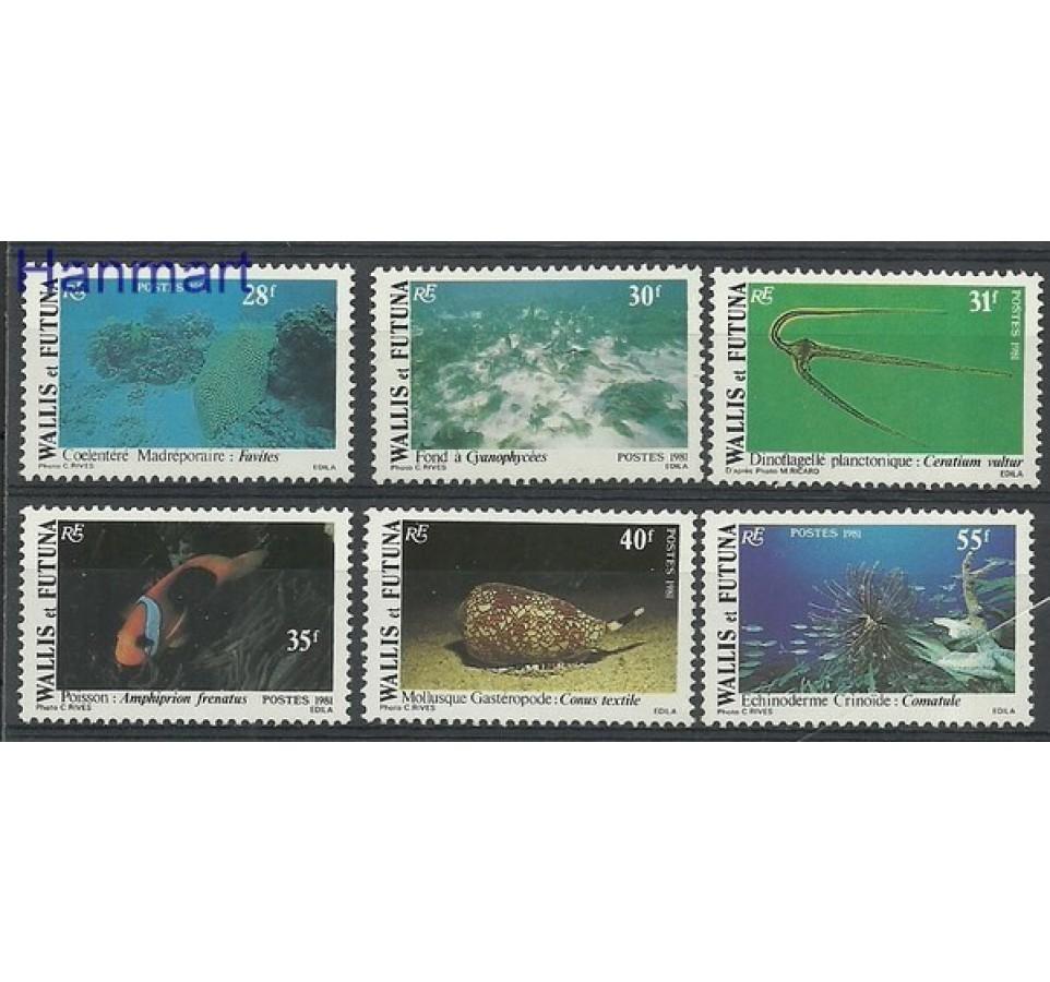 Wallis et Futuna 1981 Mi 390-395 Czyste **