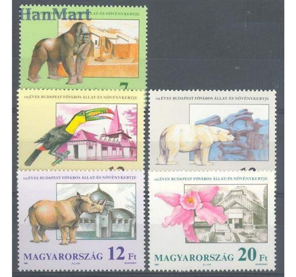Węgry 1991 Mi 4136-4140 Czyste **