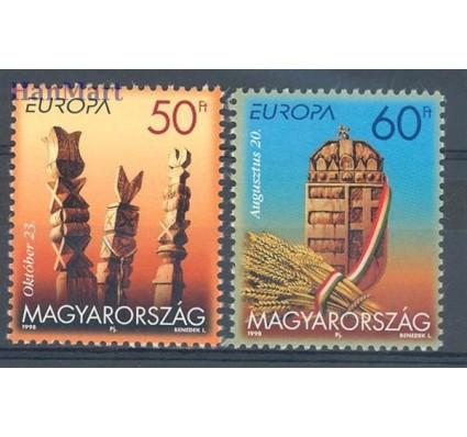 Znaczek Węgry 1998 Mi 4514-4515 Czyste **