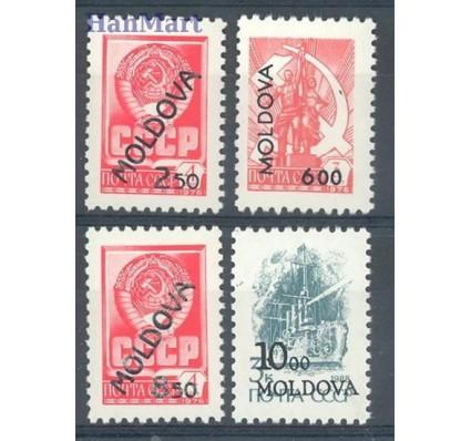 Znaczek Mołdawia 1992 Mi 22-25a Czyste **