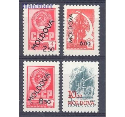 Mołdawia 1992 Mi 22-25b Czyste **