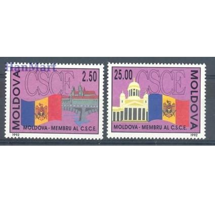 Mołdawia 1992 Mi 41-42 Czyste **