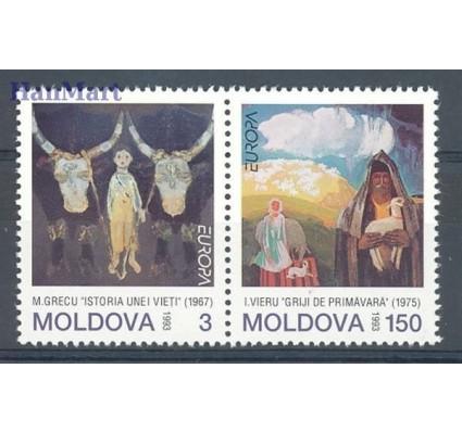 Mołdawia 1993 Mi 94-95 Czyste **